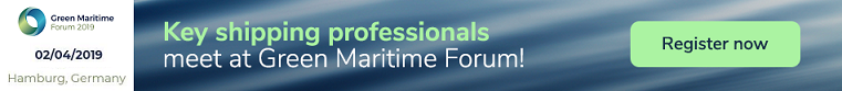 2nd Green Maritime Forum 2019 ad | Wisdom Events